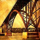 Golden High Bridge by KBritt