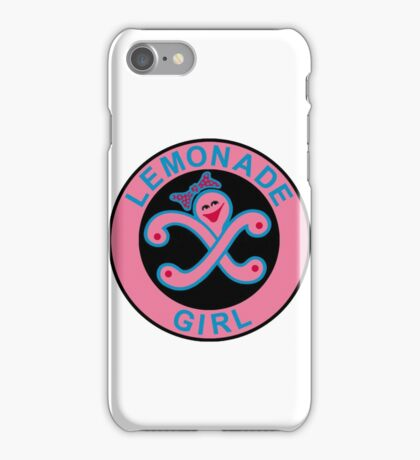 Lemonade Girl iPhone Case/Skin