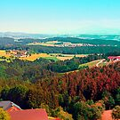 Spring, hot sun, and lots of scenery by Patrick Jobst