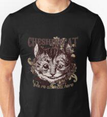Cheshire Cat Carnivale Style Unisex T-Shirt