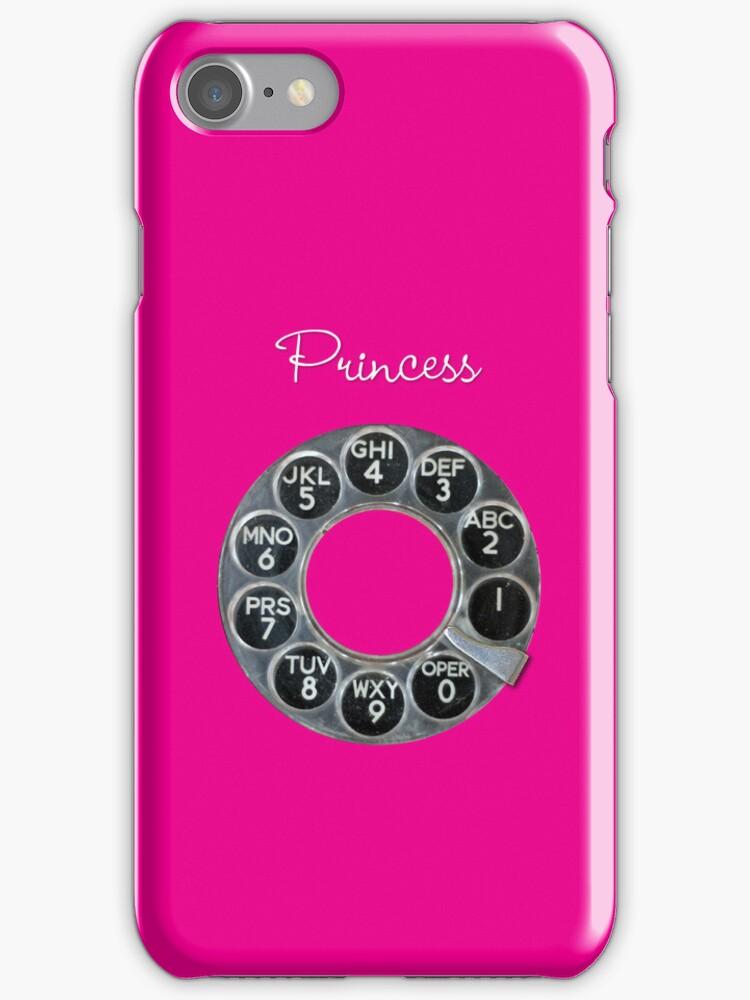 Hot Pink Rotary Phone by shixa