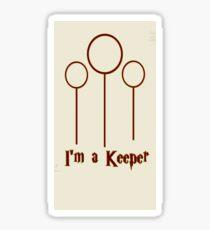 I'm a Keeper Sticker