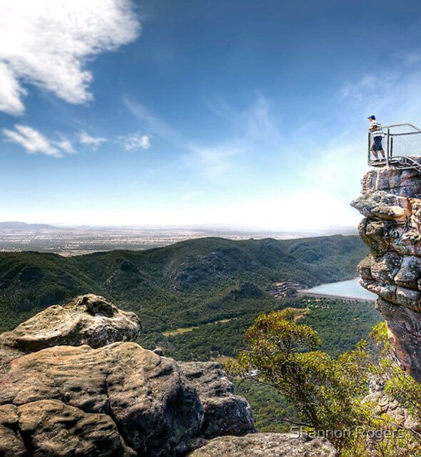 The Pinnacle – Grampians National Park – Victoria by Shannon Rogers