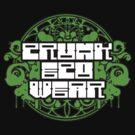 Crunk Eco Wear Official Merch no text by David Avatara
