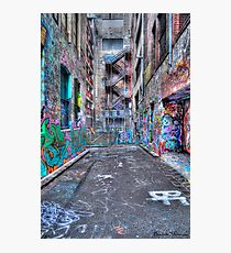 Hoiser Lane 2 HDR Photographic Print