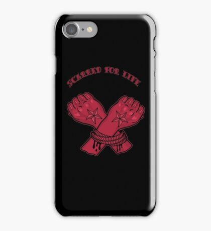 Scarred For Life iPhone Case/Skin