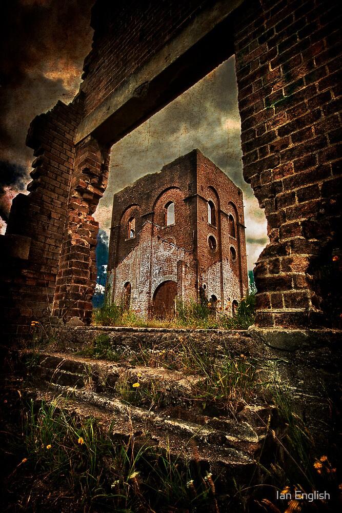 Blast Furnace - Lithgow NSW by Ian English
