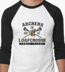 Archers of Loafcrosse Men's Baseball ¾ T-Shirt