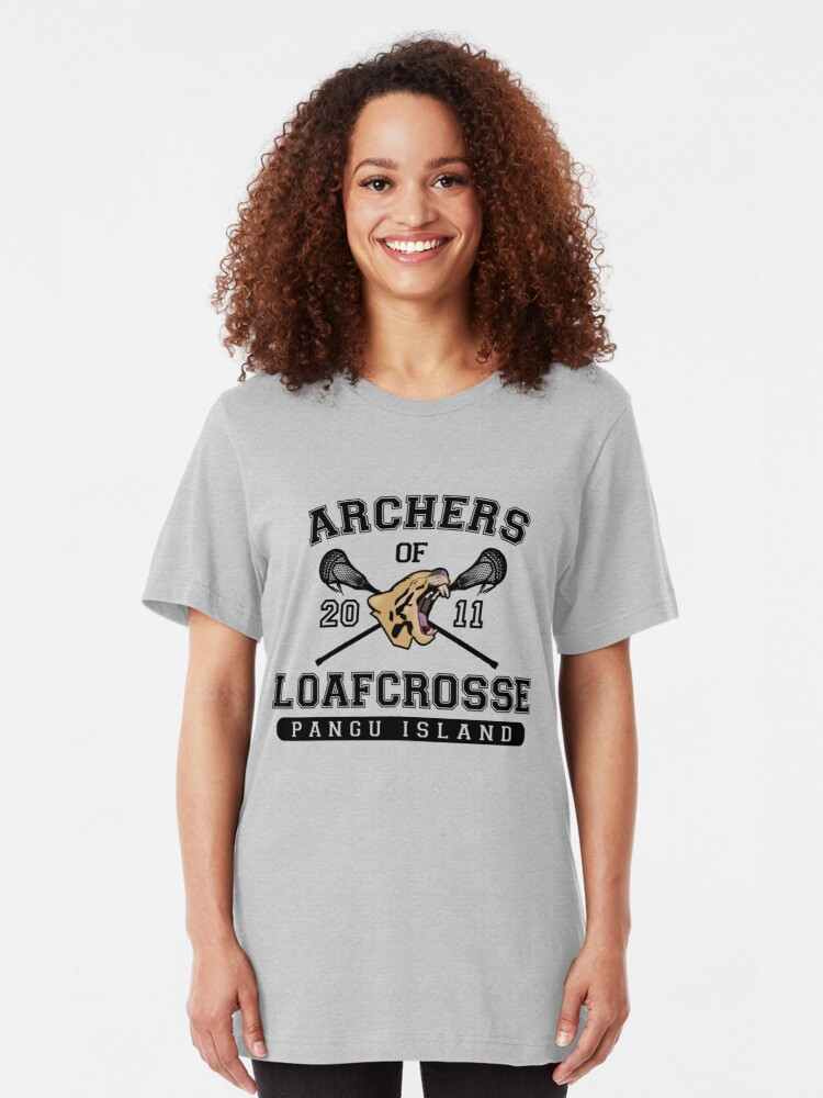 Alternative Ansicht von Archers of Loafcrosse Slim Fit T-Shirt