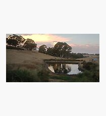 Summit Road, Nairne, South Australia Photographic Print