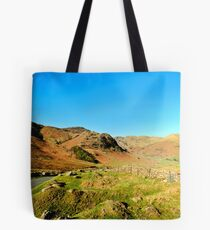 Road Through The Valley Tote Bag