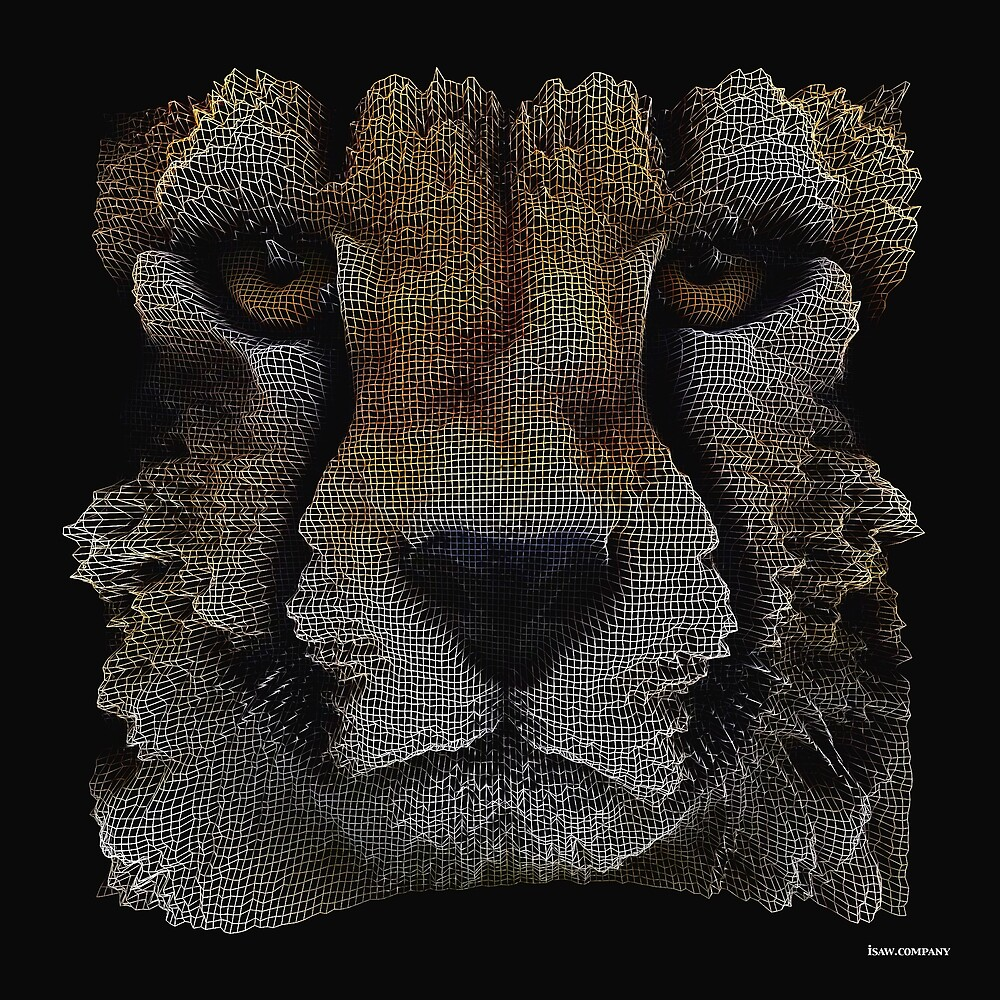 The Face of a Cheetah by iSAWcompany