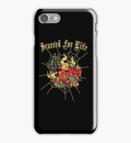 Tattoo design a mother would love - Scarred For Life iPhone Case/Skin