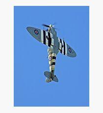 Vertical Climb - Supermarine Spitfire IX – Kent Spitfire  Photographic Print