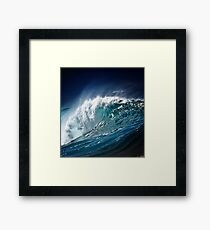 Winter Waves At Pipeline 15 Framed Print