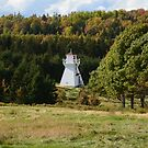 Fort Amherst Lighthouse in the Trees by Nadine Staaf