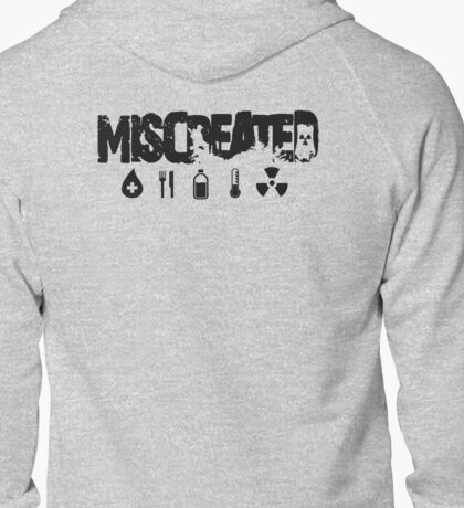 Miscreated Zipped Hoodie Black Text (Official) T-Shirt