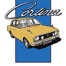 Ford Cortina 1600E by Steve Harvey