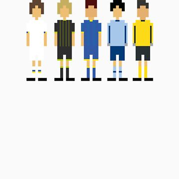 Pixel Players by howsonisnow