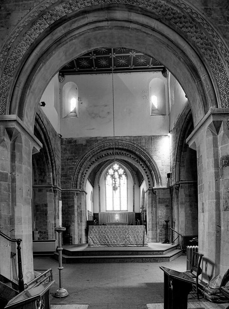 The Crossing St Mary's Church, Kingsclere by Dave Godden