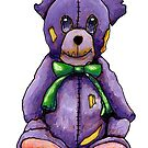 Purple Zombie Bear by Cantus
