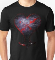 Kingdom Hearts Heartless grunge universe Unisex T-Shirt