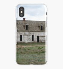 Old empty house iPhone Case/Skin