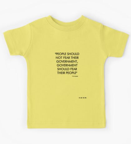Government Kids Clothes