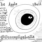 The Apple iBall editorial cartoon by bubbleicious