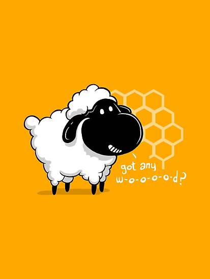 Catan You Give Me Wood?   Settlers of Catan Board Game Geek Sheep by BootsBoots