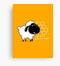 Catan You Give Me Wood? | Settlers of Catan Board Game Geek Sheep Canvas Print