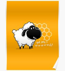 Catan You Give Me Wood? | Settlers of Catan Board Game Geek Sheep Poster