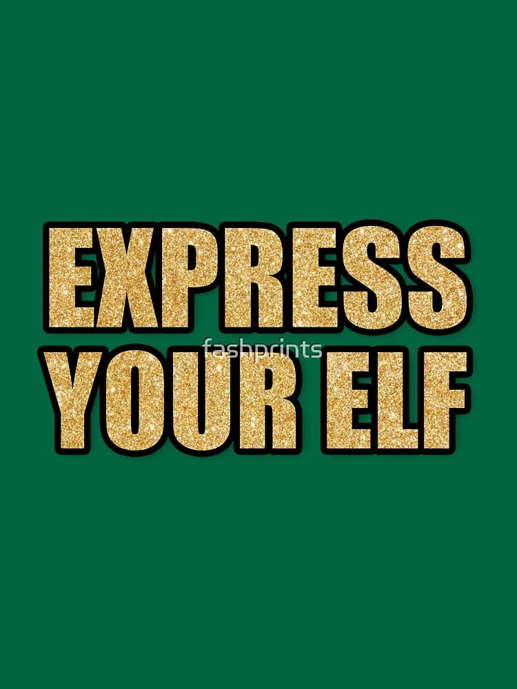 Drücke deine Elfe aus von fashprints