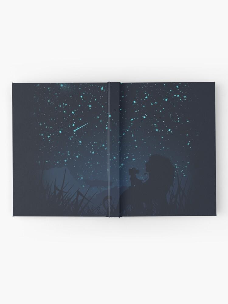 Alternative Ansicht von Unter den Sternen Notizbuch