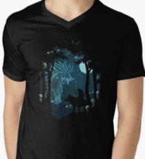 Forest Spirit Men's V-Neck T-Shirt