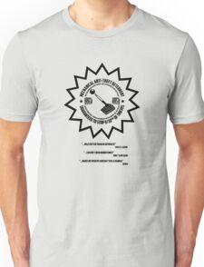 Mechanical Anti-Theft Systems Unisex T-Shirt