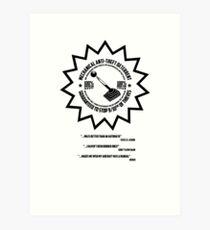 Mechanical Anti-Theft Systems Art Print