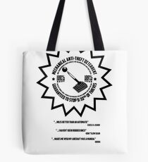 Mechanical Anti-Theft Systems Tote Bag