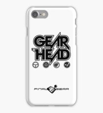 Gear Head iPhone Case/Skin