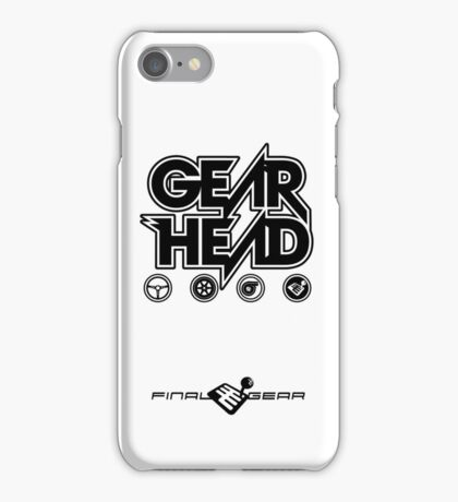 Gear Head iPhone Case/Skin