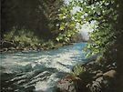 Summer River by Karen Ilari