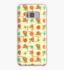 Orange Bird Samsung Galaxy Case/Skin