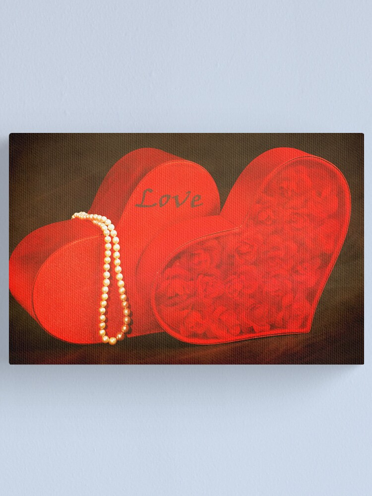 Alternate view of Two Hearts Canvas Print