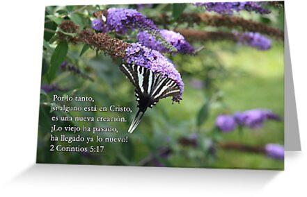 2 Corintios 5:17 ... si alguno está en Cristo by WalnutHill
