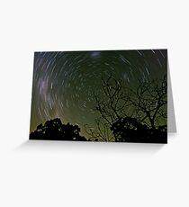 Circling Stars Greeting Card