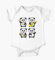 Band of pandas One Piece - Short Sleeve