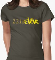 221BELIEVE Women's Fitted T-Shirt