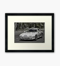 Mazda RX7 Turbo - 1981 Framed Print