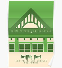 Griffith Park: The Griffith Park & Southern Railroad Poster
