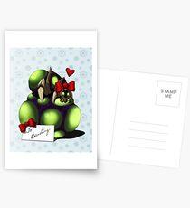 Christmas Baneling Postcards